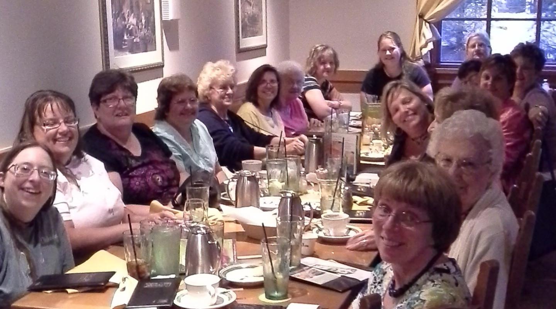 Ladies of SRC at Dinner