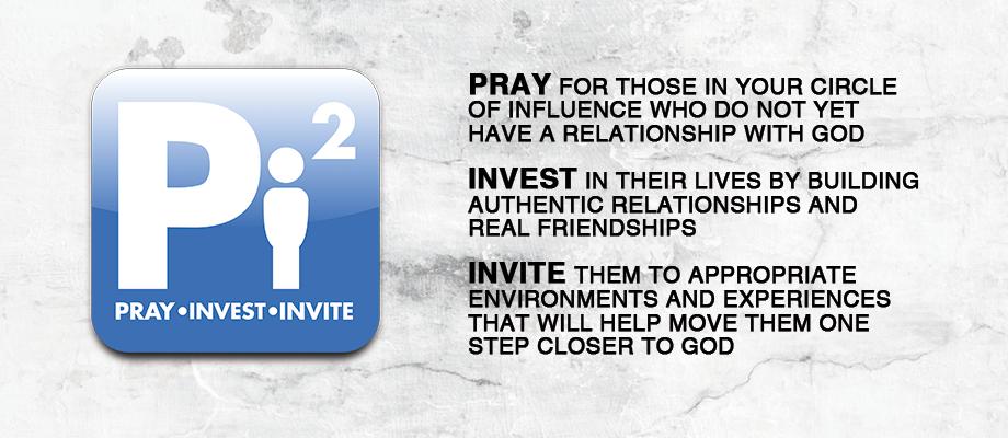 Pray, Invest, Invite