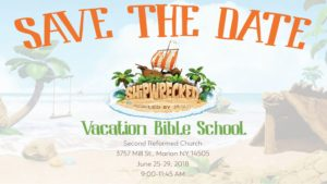 VBS is coming June 25-29th